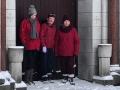 Snow around St Mary's Church (4)